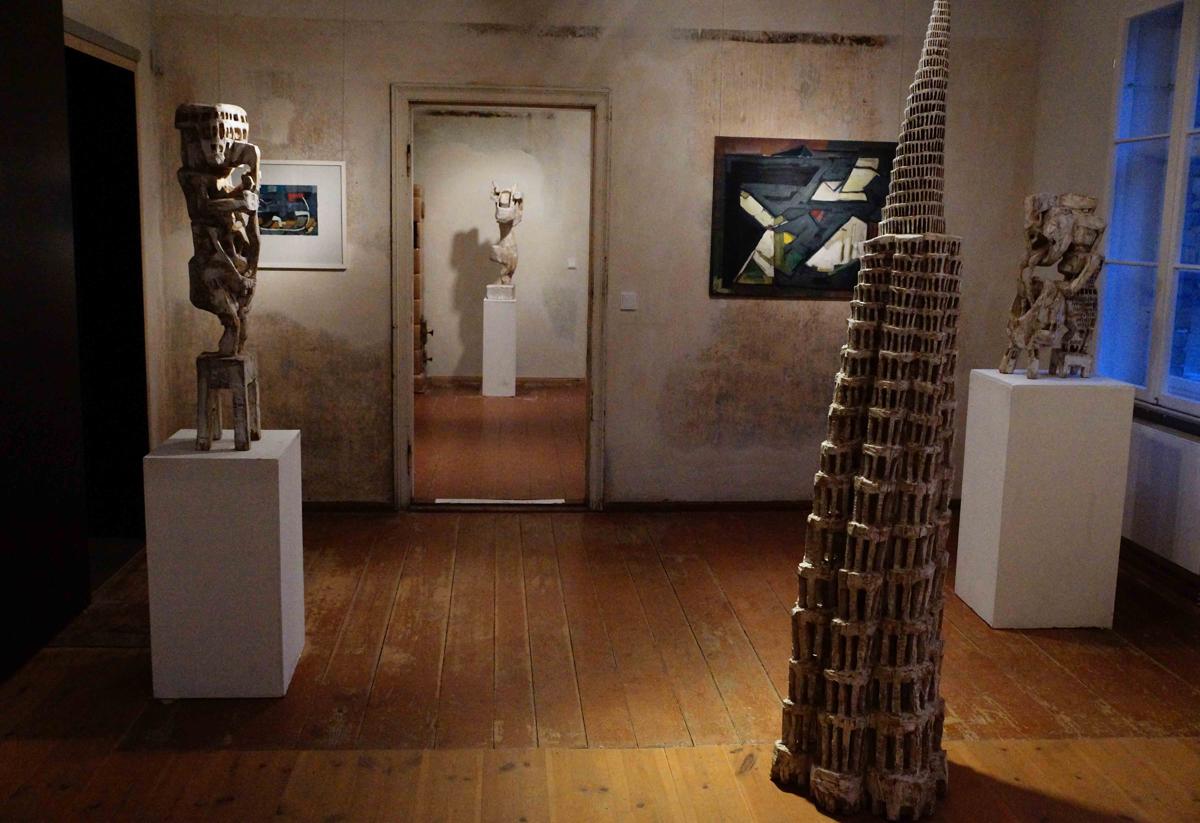 Skulpturen von Klaus Hack und Malerei von Manfred Zoller - 25. Januar bis 21. Februar